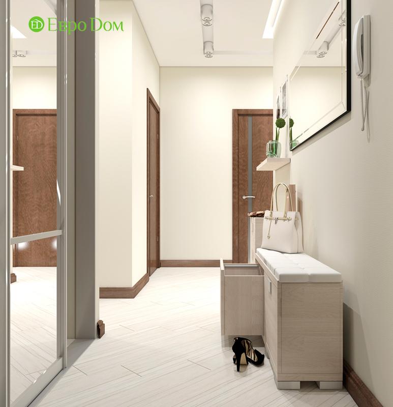 Дизайн трехкомнатной квартиры 67 кв. м в современном стиле. Фото 013