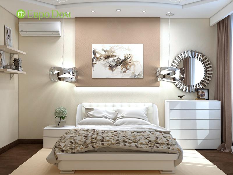 Дизайн трехкомнатной квартиры 67 кв. м в современном стиле. Фото 019