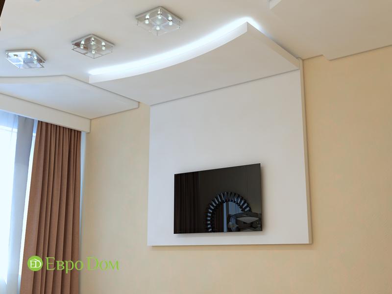 Дизайн трехкомнатной квартиры 67 кв. м в современном стиле. Фото 020
