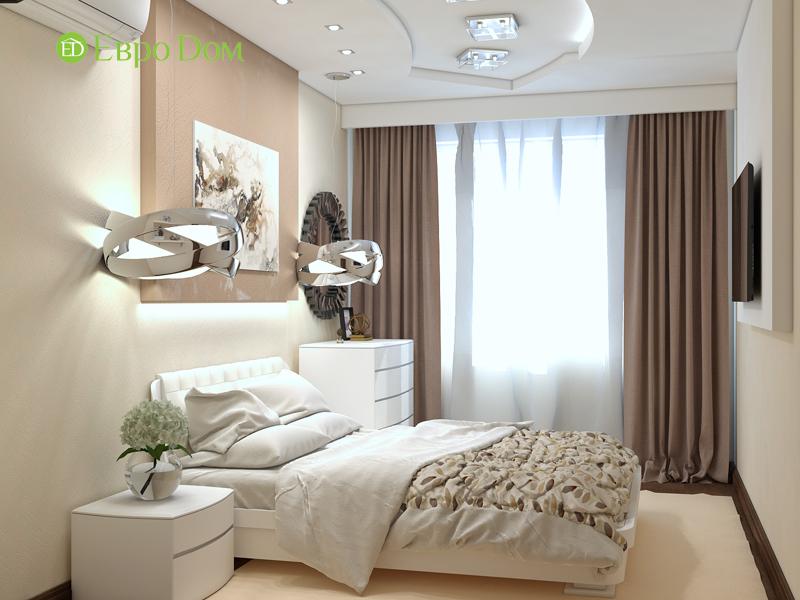 Дизайн трехкомнатной квартиры 67 кв. м в современном стиле. Фото 021