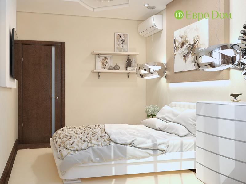 Дизайн трехкомнатной квартиры 67 кв. м в современном стиле. Фото 022