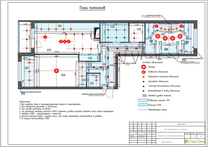 Дизайн трехкомнатной квартиры 67 кв. м в современном стиле. Фото 036