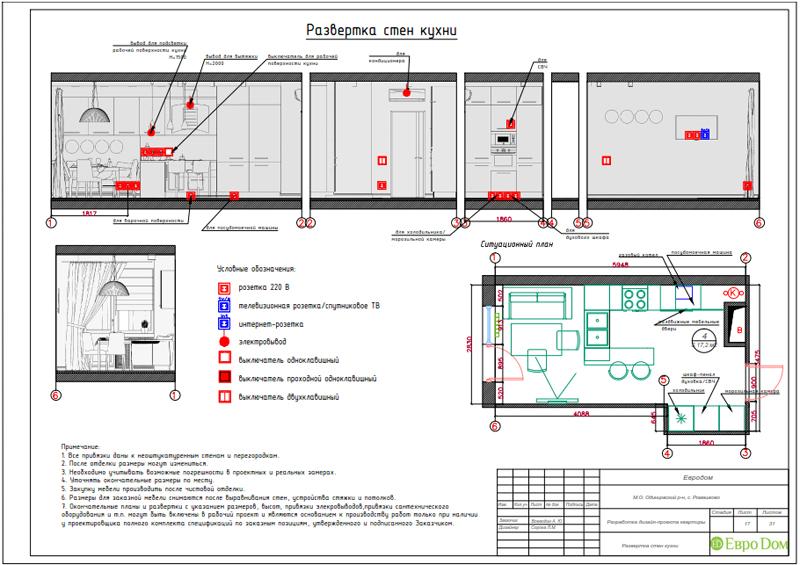 Дизайн трехкомнатной квартиры 67 кв. м в современном стиле. Фото 039