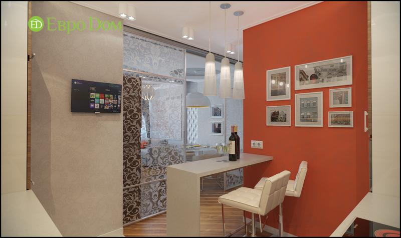 Дизайн трехкомнатной квартиры 87 кв. м в современном стиле. Фото 04