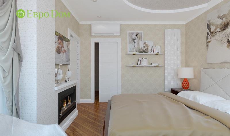 Дизайн трехкомнатной квартиры 87 кв. м в современном стиле. Фото 012