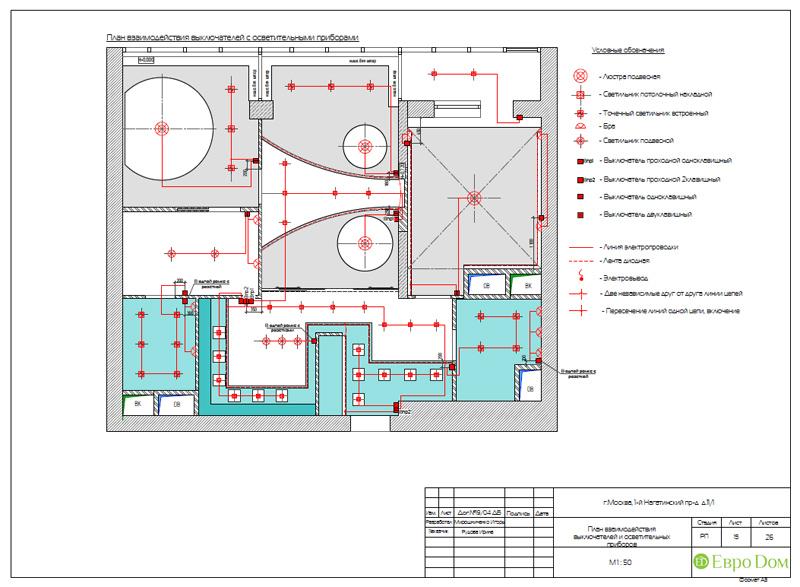 Дизайн трехкомнатной квартиры 87 кв. м в современном стиле. Фото 031