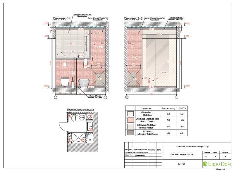 Дизайн трехкомнатной квартиры 87 кв. м в современном стиле. Фото 032