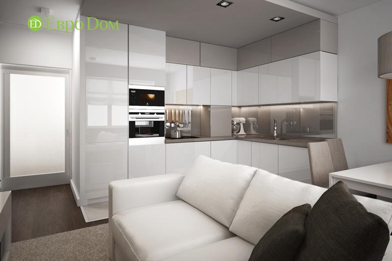 Дизайн 3-комнатной квартиры 76 м2 в стиле минимализм. Фото 06