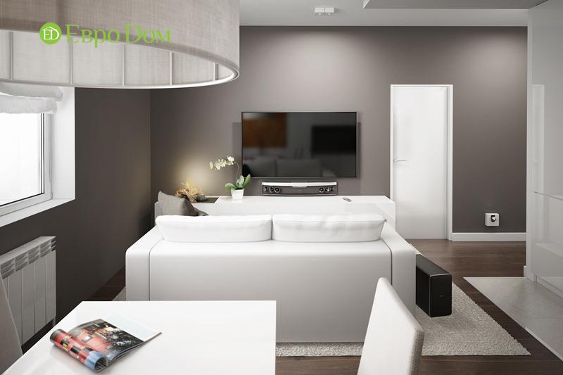 Дизайн 3-комнатной квартиры 76 м2 в стиле минимализм. Фото 07