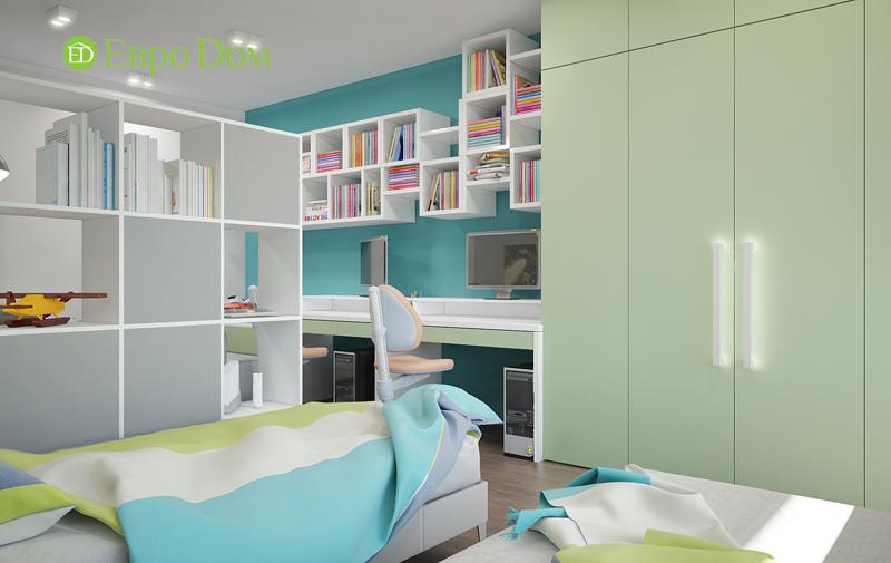 Дизайн 3-комнатной квартиры 76 м2 в стиле минимализм. Фото 09