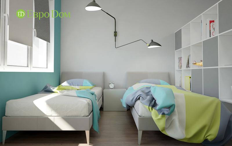 Дизайн 3-комнатной квартиры 76 м2 в стиле минимализм. Фото 012