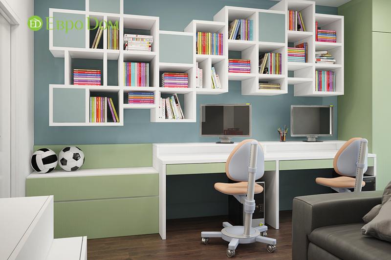 Дизайн 3-комнатной квартиры 76 м2 в стиле минимализм. Фото 013