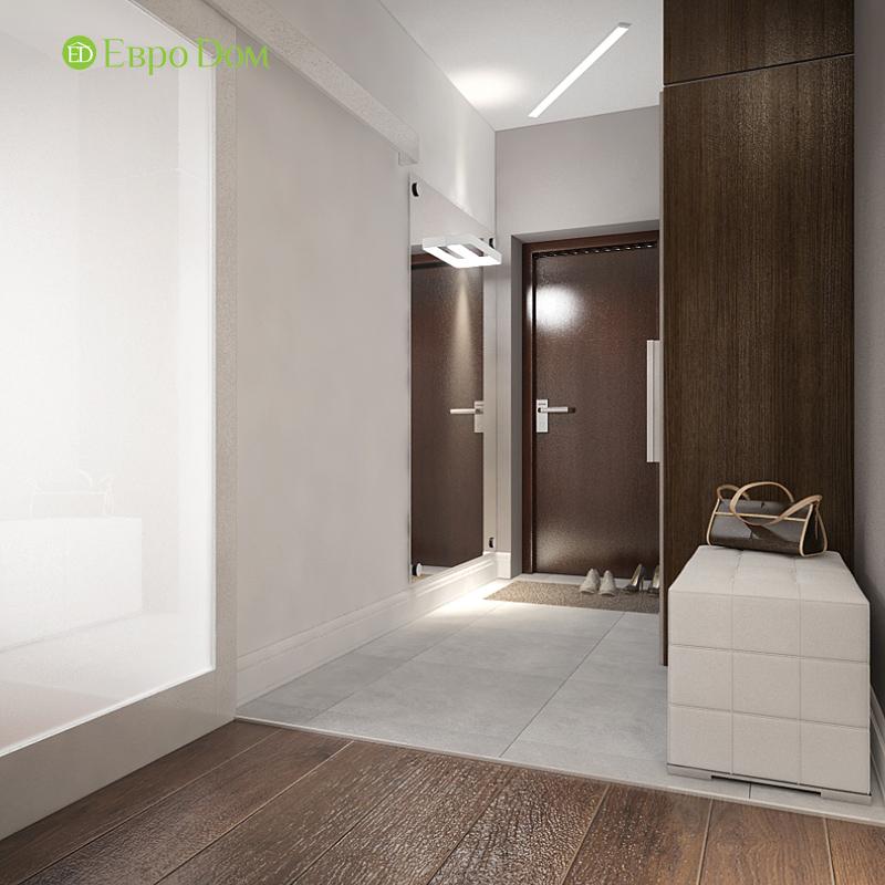 Дизайн 3-комнатной квартиры 76 м2 в стиле минимализм. Фото 016