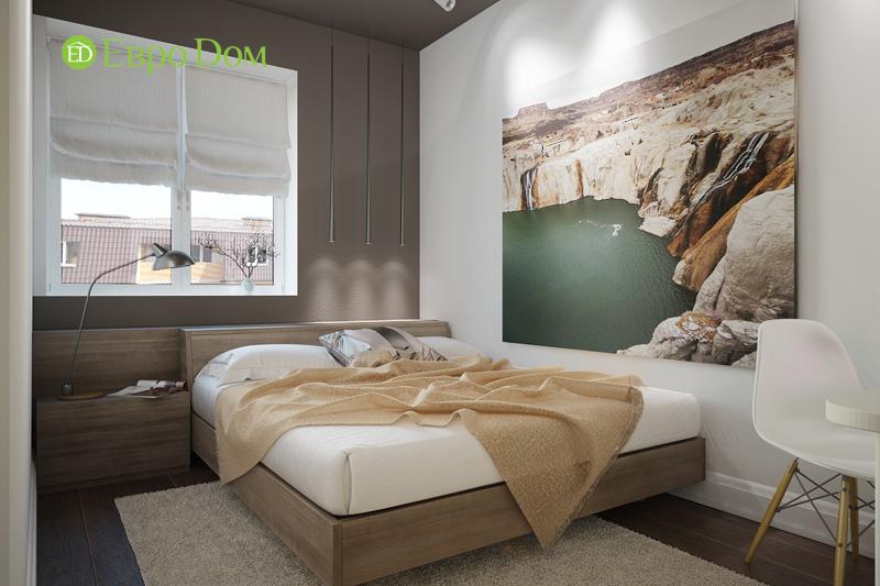 Дизайн 3-комнатной квартиры 76 м2 в стиле минимализм. Фото 017