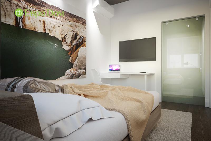 Дизайн 3-комнатной квартиры 76 м2 в стиле минимализм. Фото 018