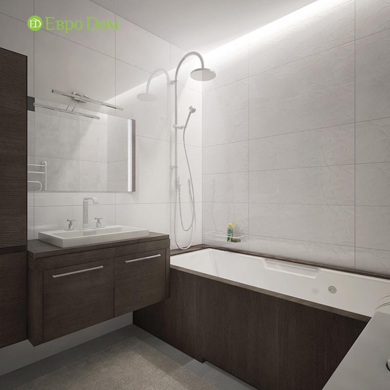 Дизайн 3-комнатной квартиры 76 м2 в стиле минимализм. Фото 021