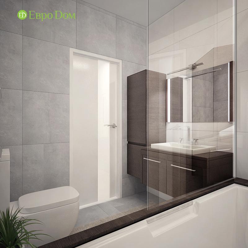 Дизайн 3-комнатной квартиры 76 м2 в стиле минимализм. Фото 022