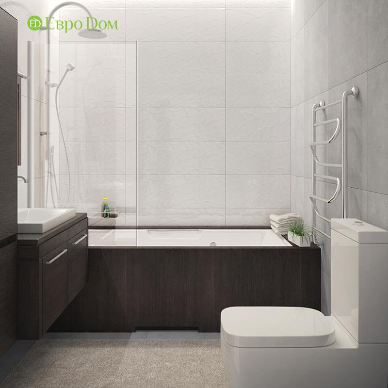 Дизайн 3-комнатной квартиры 76 м2 в стиле минимализм. Фото 023