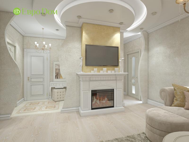 Дизайн трёхкомнатной квартиры 75 кв. м в стиле неоклассика. Фото 03