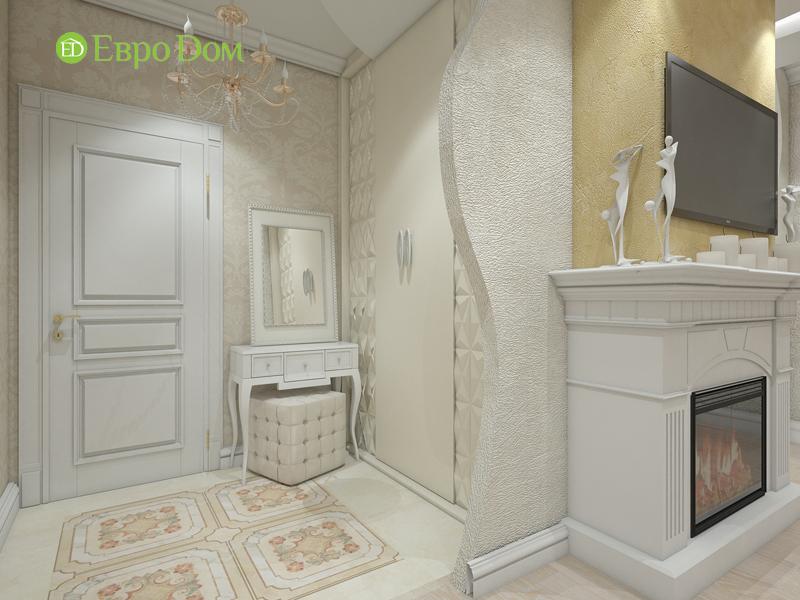 Дизайн трёхкомнатной квартиры 75 кв. м в стиле неоклассика. Фото 05