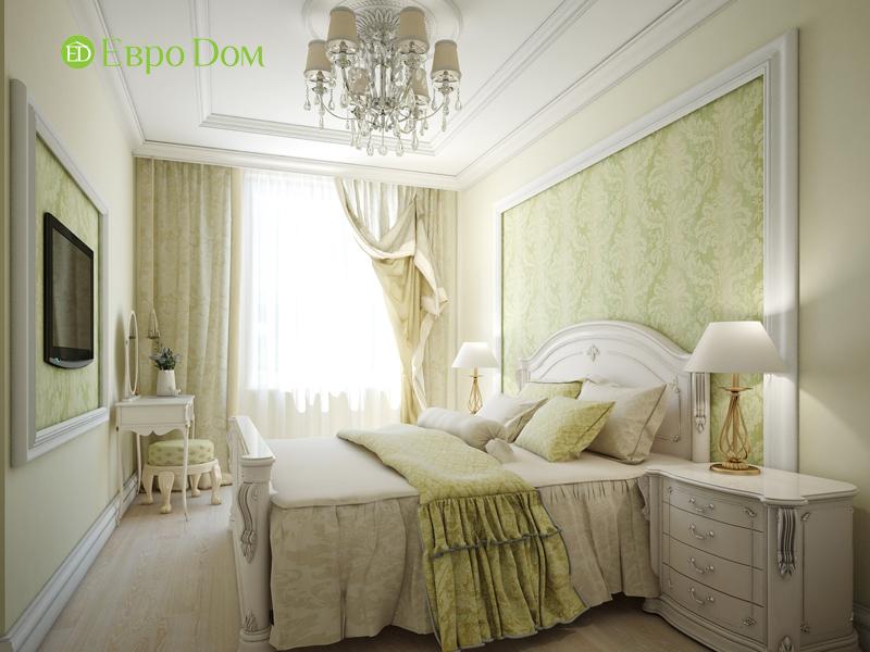 Дизайн трёхкомнатной квартиры 75 кв. м в стиле неоклассика. Фото 010