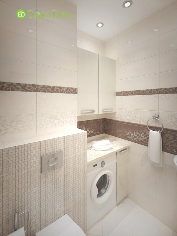 Дизайн трёхкомнатной квартиры 75 кв. м в стиле неоклассика. Фото 012