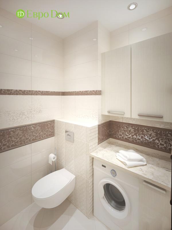 Дизайн трёхкомнатной квартиры 75 кв. м в стиле неоклассика. Фото 013