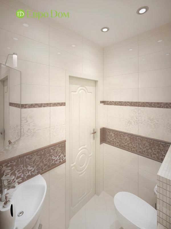 Дизайн трёхкомнатной квартиры 75 кв. м в стиле неоклассика. Фото 014