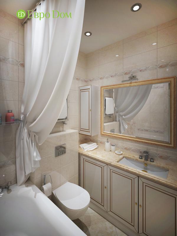 Дизайн трёхкомнатной квартиры 75 кв. м в стиле неоклассика. Фото 016