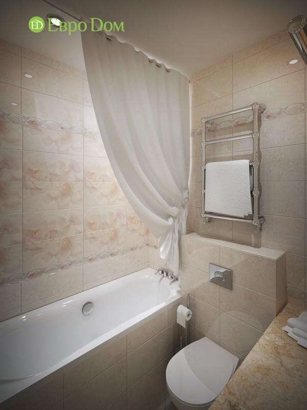 Дизайн трёхкомнатной квартиры 75 кв. м в стиле неоклассика. Фото 018