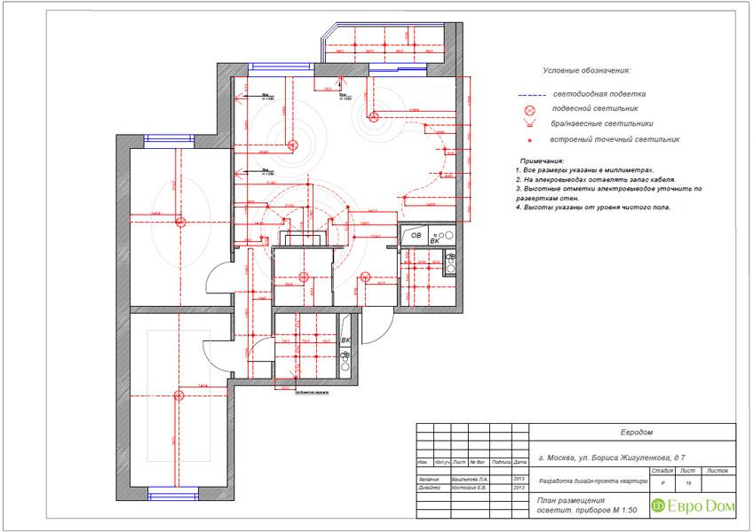 Дизайн трёхкомнатной квартиры 75 кв. м в стиле неоклассика. Фото 033