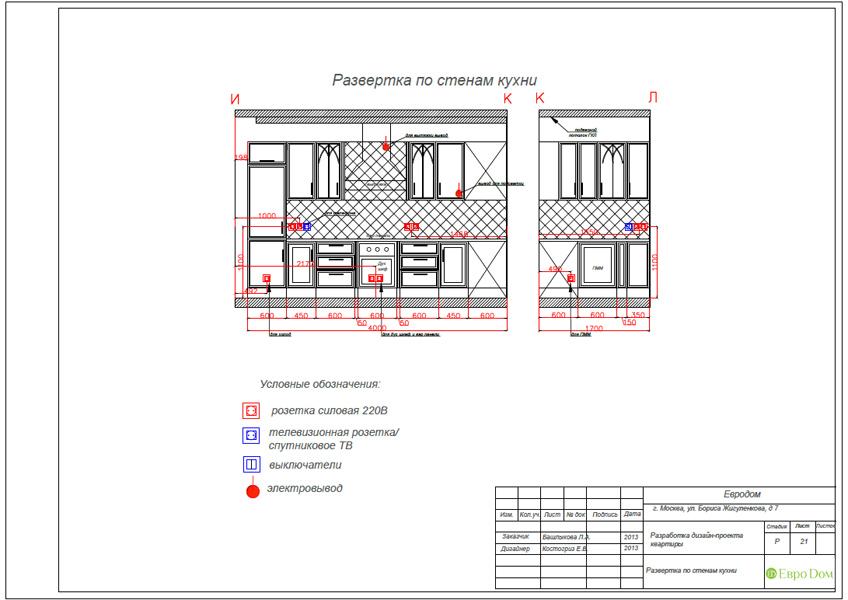 Дизайн трёхкомнатной квартиры 75 кв. м в стиле неоклассика. Фото 040