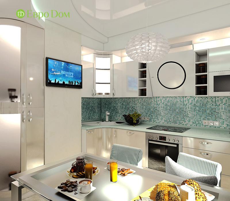 Дизайн 3-комнатной квартиры 76 кв. м в стиле тиффани. Фото 011
