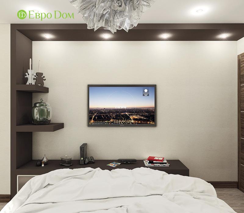 Дизайн 3-комнатной квартиры 76 кв. м в стиле тиффани. Фото 018