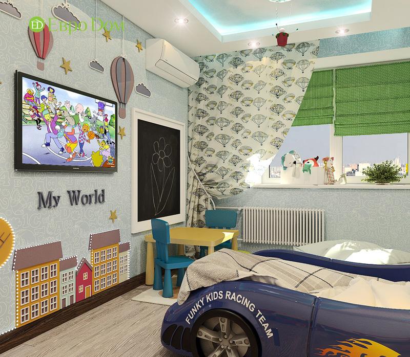 Дизайн 3-комнатной квартиры 76 кв. м в стиле тиффани. Фото 020