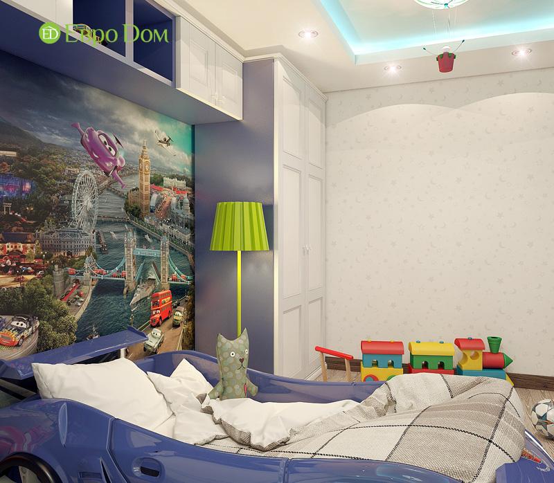 Дизайн 3-комнатной квартиры 76 кв. м в стиле тиффани. Фото 023