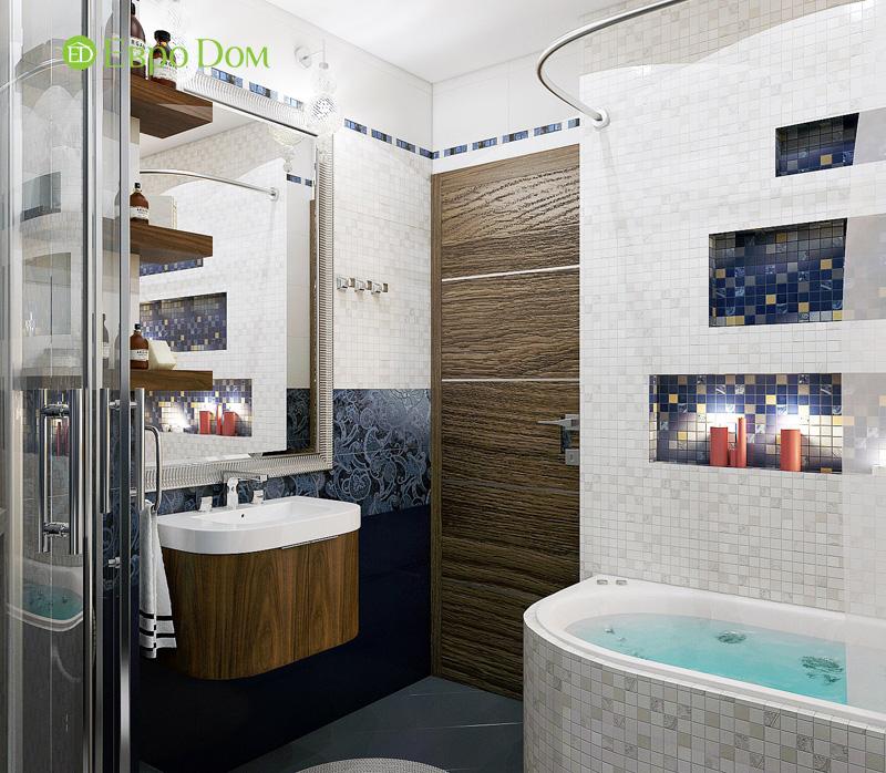 Дизайн 3-комнатной квартиры 76 кв. м в стиле тиффани. Фото 026