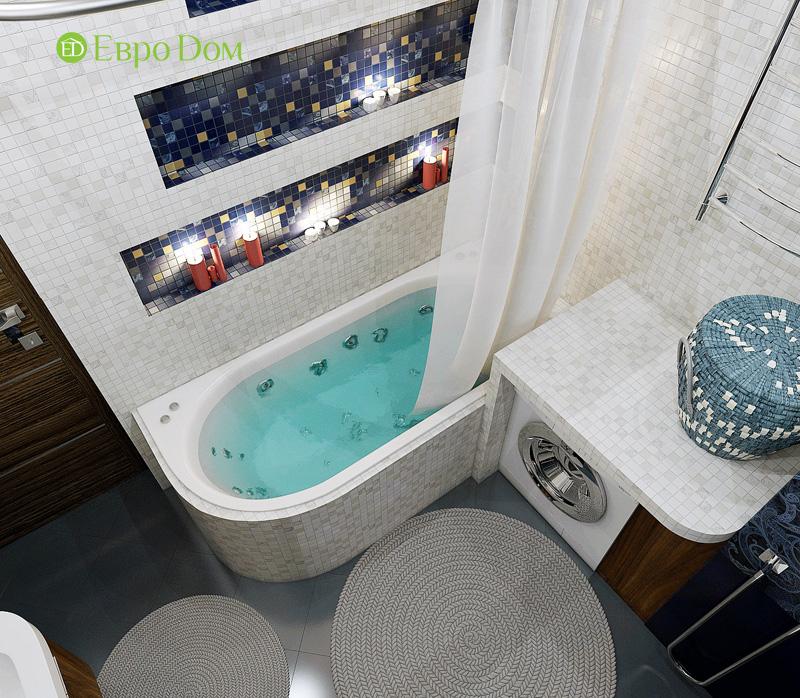 Дизайн 3-комнатной квартиры 76 кв. м в стиле тиффани. Фото 027