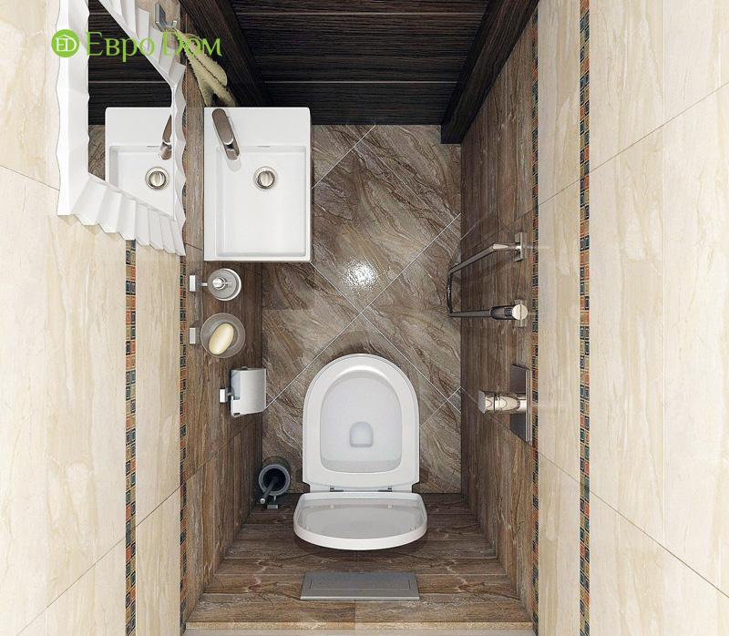 Дизайн 3-комнатной квартиры 76 кв. м в стиле тиффани. Фото 032