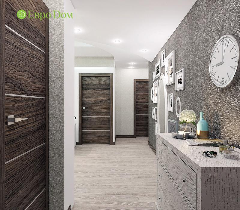 Дизайн 3-комнатной квартиры 76 кв. м в стиле тиффани. Фото 034
