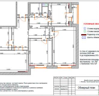 Дизайн четырехкомнатной квартиры 107 кв. м в стиле неоклассика. Фото проекта