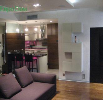 Ремонт двухкомнатной квартиры 70 кв. м в современном стиле. Фото проекта