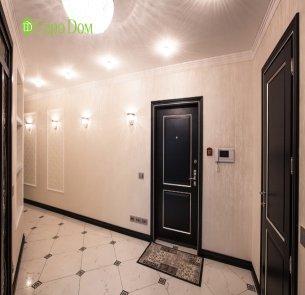 Ремонт четырехкомнатной квартиры 150 кв. м в современном стиле. Фото проекта