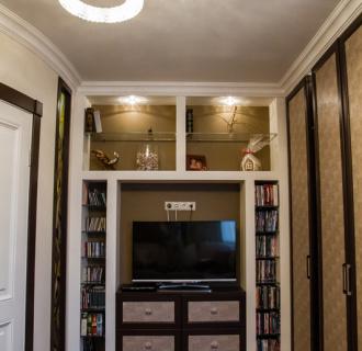 Ремонт трехкомнатной квартиры 74 кв. м в стиле фьюжн. Фото проекта