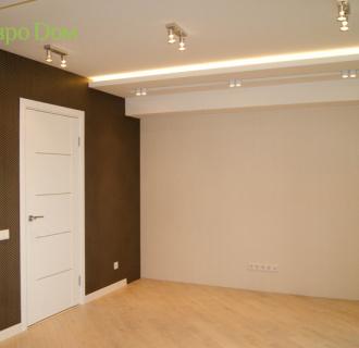 Ремонт трехкомнатной квартиры 64 кв. м в современном стиле. Фото проекта