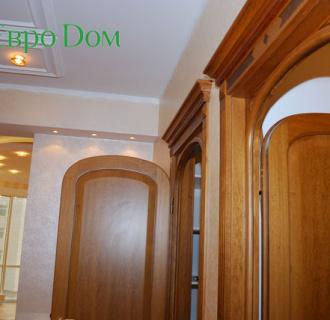 Ремонт трехкомнатной квартиры 151 кв. м в классическом стиле. Фото проекта