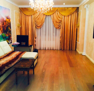 Ремонт трехкомнатной квартиры 86 кв. м в классическом стиле. Фото проекта