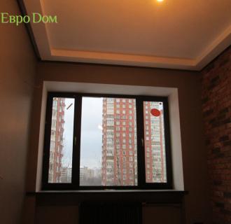 Ремонт двухкомнатной квартиры 77 кв. м в стиле лофт. Фото проекта