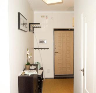 Ремонт двухкомнатной квартиры 74 кв. м в стиле функционализм. Фото проекта