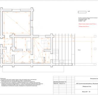 Дизайн интерьера коттеджа 91 кв. м в современном стиле. Фото проекта